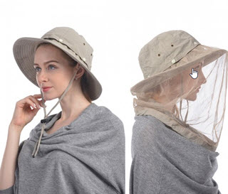mosquito head net and hat